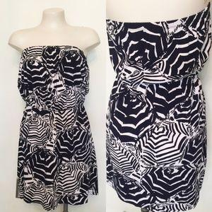 Lilly Pulitzer 'Deanna' Print Strapless Dress